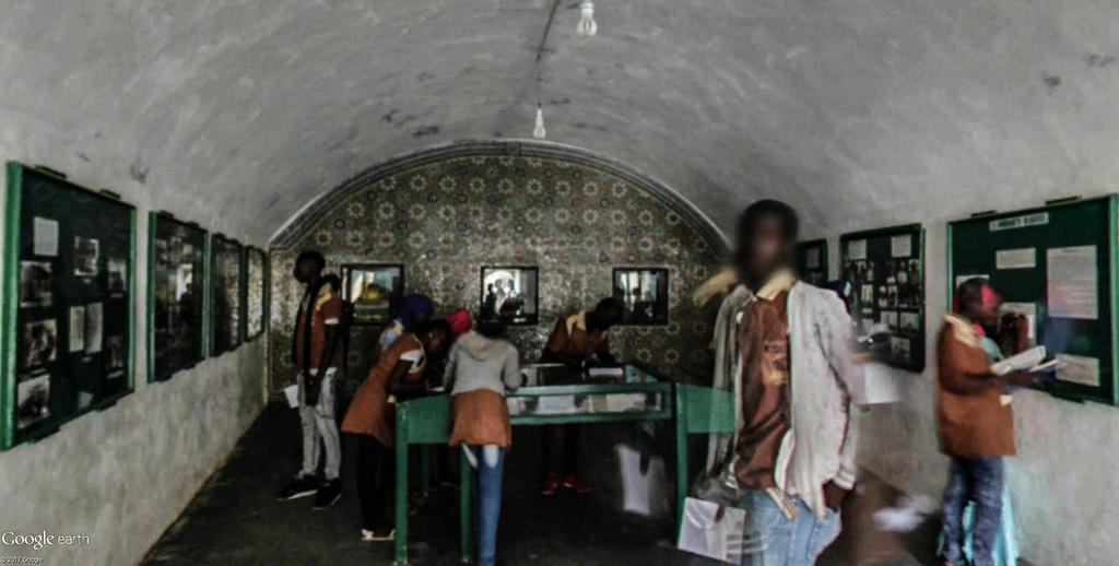 Histoire de la traite des êtres humains à Gorée au Sénégal. Musye_23
