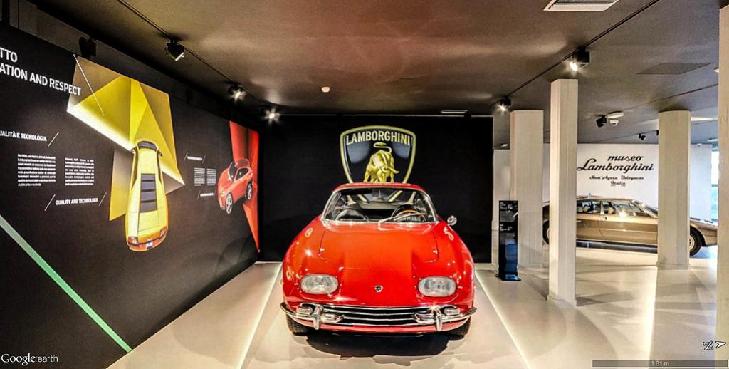 Musée Lamborghini à Sant'Agata Bolognese en Italie. Musye_26