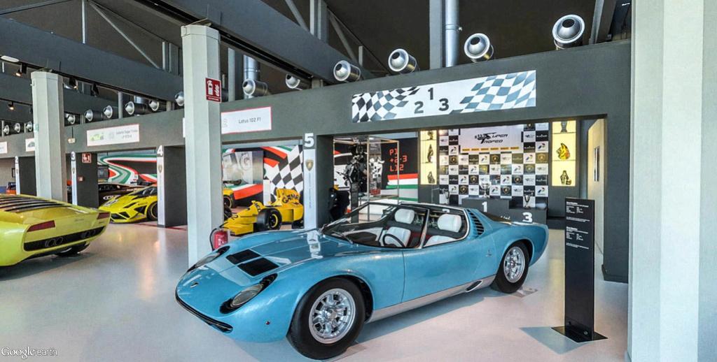 Musée Lamborghini à Sant'Agata Bolognese en Italie. Musye_27