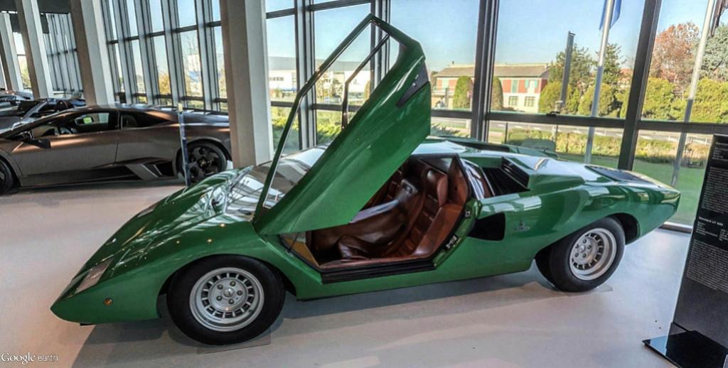 Musée Lamborghini à Sant'Agata Bolognese en Italie. Musye_28