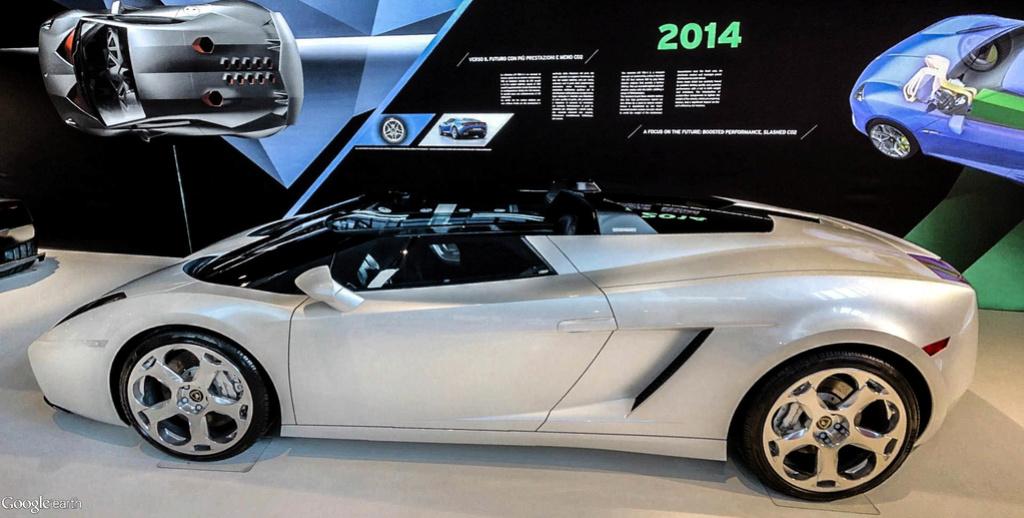 Musée Lamborghini à Sant'Agata Bolognese en Italie. Musye_29