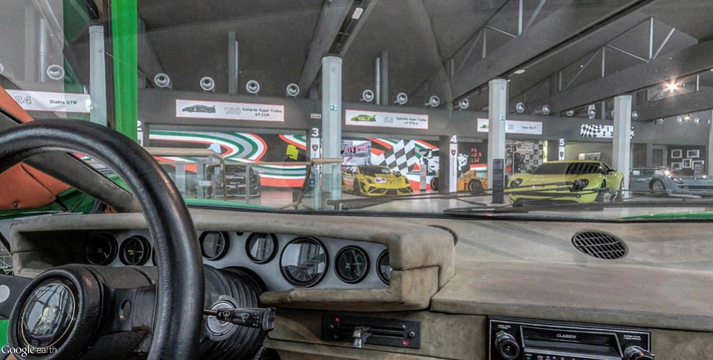 Musée Lamborghini à Sant'Agata Bolognese en Italie. Musye_33