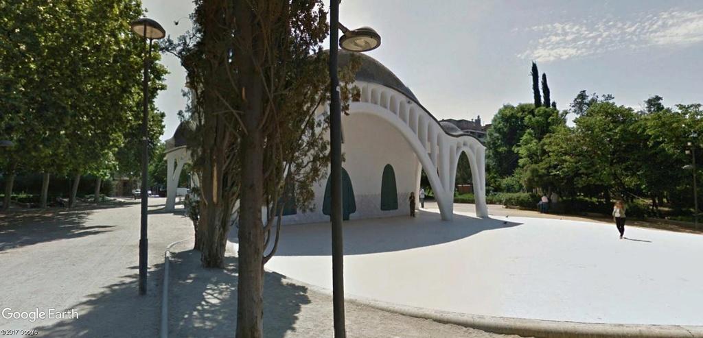 Masia Freixa à TERRASSA, Catalogne, ESPAGNE Parc_d11