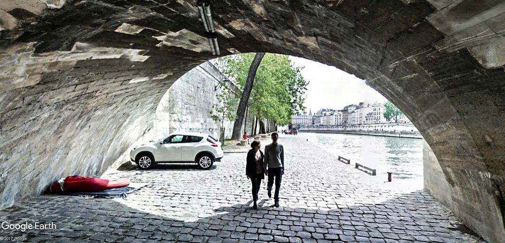 Street View : Sous les ponts de Paris. Pont_n10