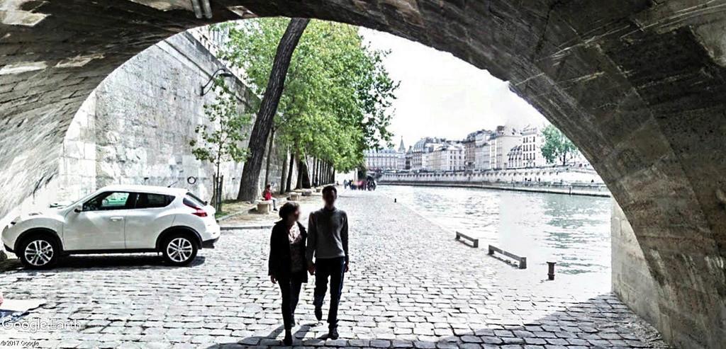 Street View : Sous les ponts de Paris. Pont_n11