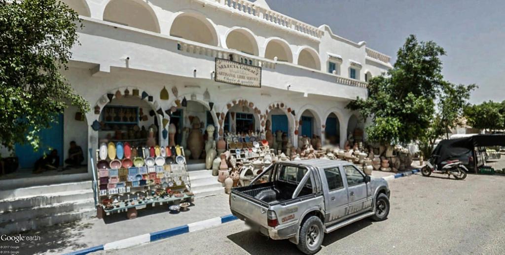 Potiers et poteries à Guellala sur l'île de Djerba en Tunisie. Poteri15