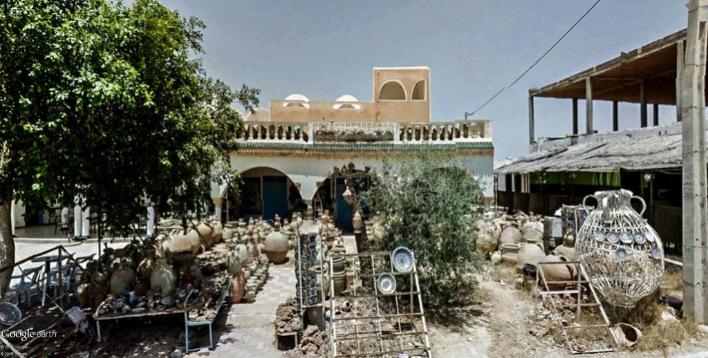 Potiers et poteries à Guellala sur l'île de Djerba en Tunisie. Poteri16