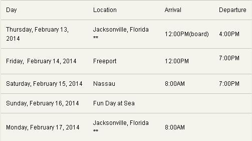 "2/15/14 - Nassau, Bahamas, Blue Lagoon Island, ""Weezer Cruise"" 2-13-110"