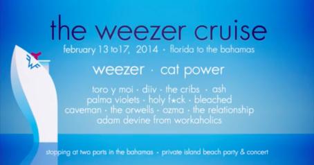 "2/15/14 - Nassau, Bahamas, Blue Lagoon Island, ""Weezer Cruise"" 2-14-111"