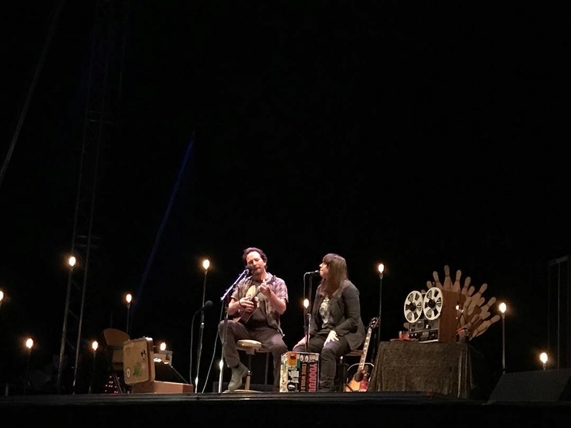 """6/3/17 - """"Heartland Festival"""", Kværndrup, Denmark, Egeskov Castle and Gardens (Eddie Vedder Solo Concert) 265"""