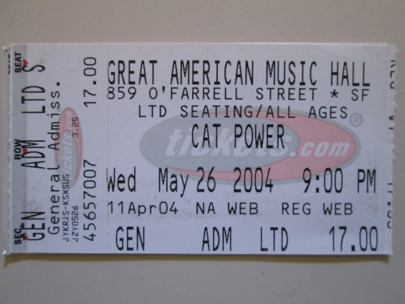 5/26/04 - San Francisco, CA, Great American Music Hall 5-26-010