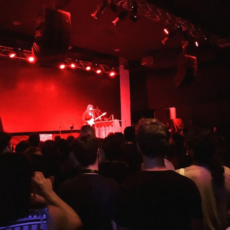 2/28/17 - Santiago, Chile, Vivo Club Amanda Estudio Estereo 551