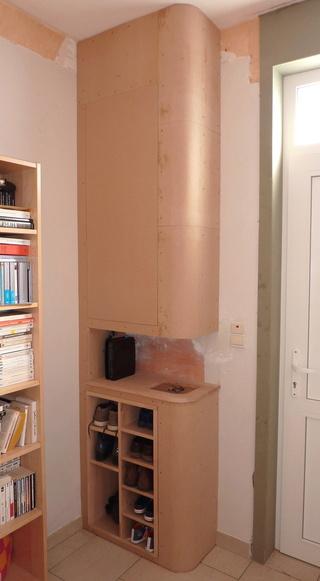 Ensemble bureau/meuble bas/bibliothèque Meuble17