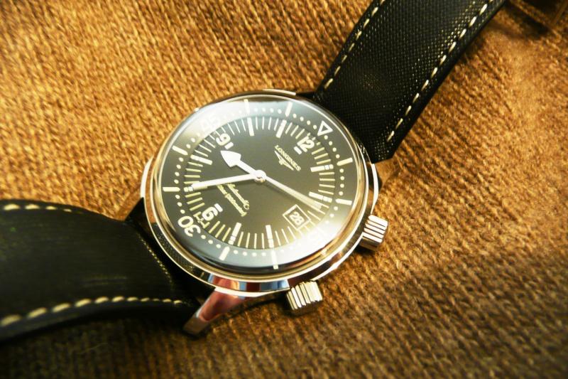 [Revue] Longines Legend Diver P1110012