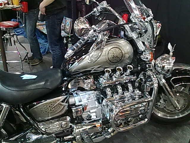 Motorradmesse 2014 in Leipzig 01022018