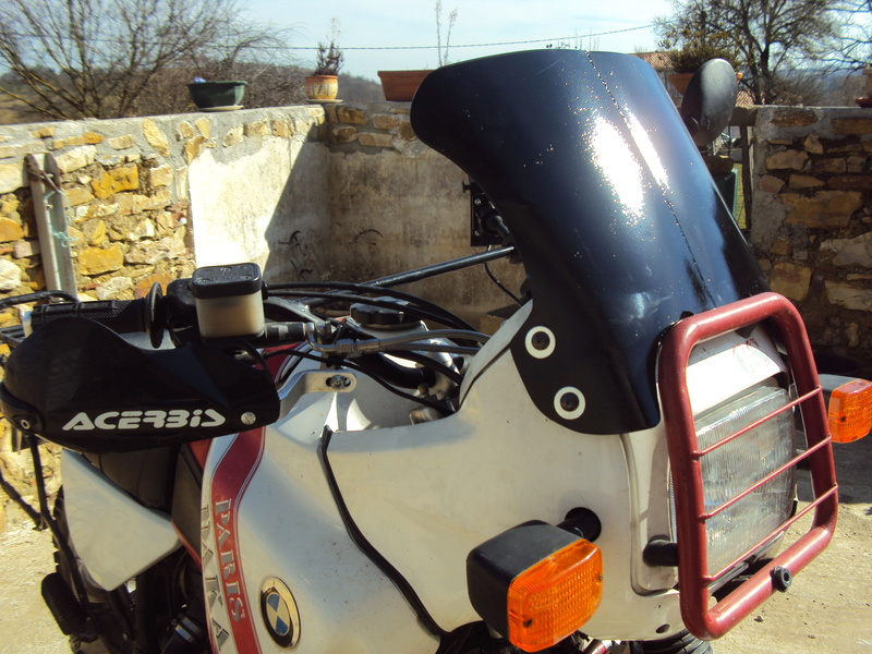 R 100 GS fourche AT - Page 3 Bulle613