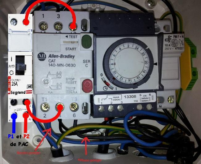 Branchement électrique Poolex Dreamline 95 20140410
