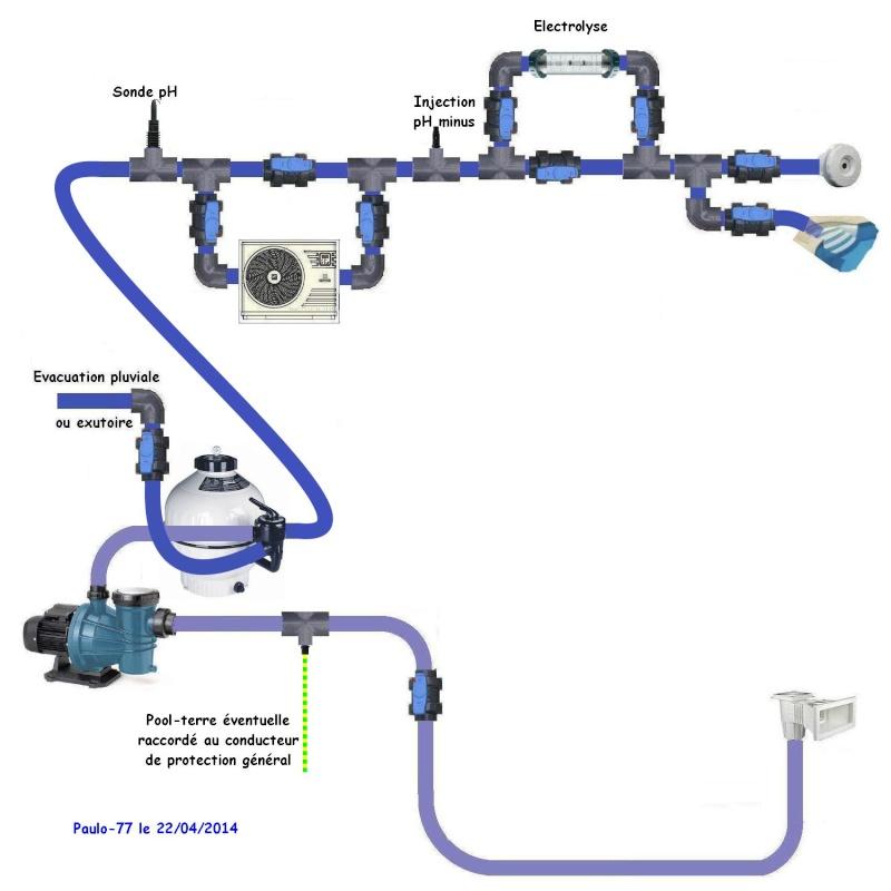 schéma branchement hydraulique Circui12