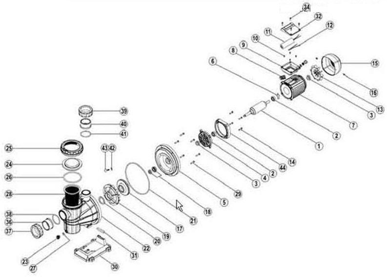 Réparation / remise à neuf d'une pompe Wat P50-1 par Erick Eclata10