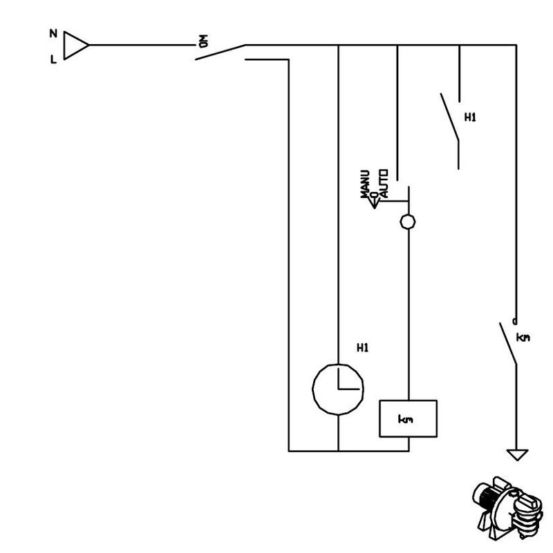 schéma branchement boitier electrique fourni W******  Schema16