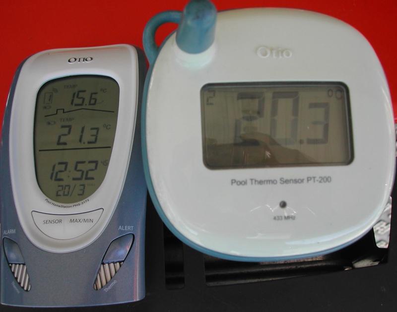 thermometre digital déporté Thermo13
