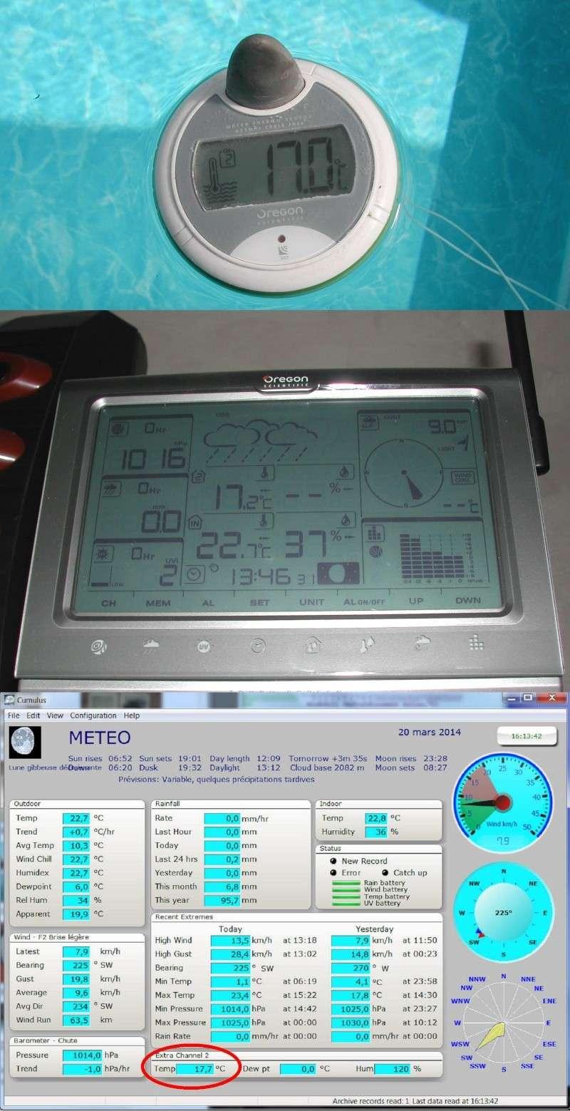 thermometre digital déporté Thermo14