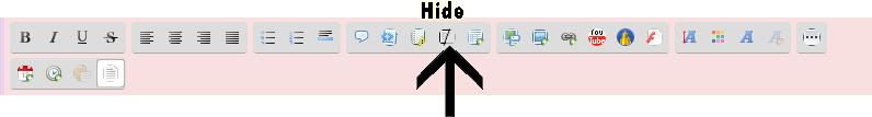 Ocultar (hide). Nueva utilidad  Captur48