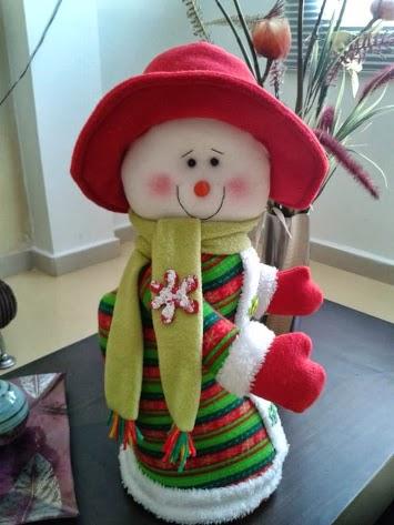 Muñeco de Nieve de Rosio Araujo Colin Img_4310