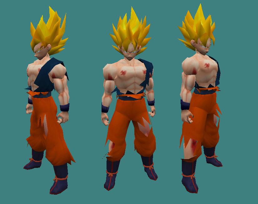 [Model] Goku SSJ Namek  110