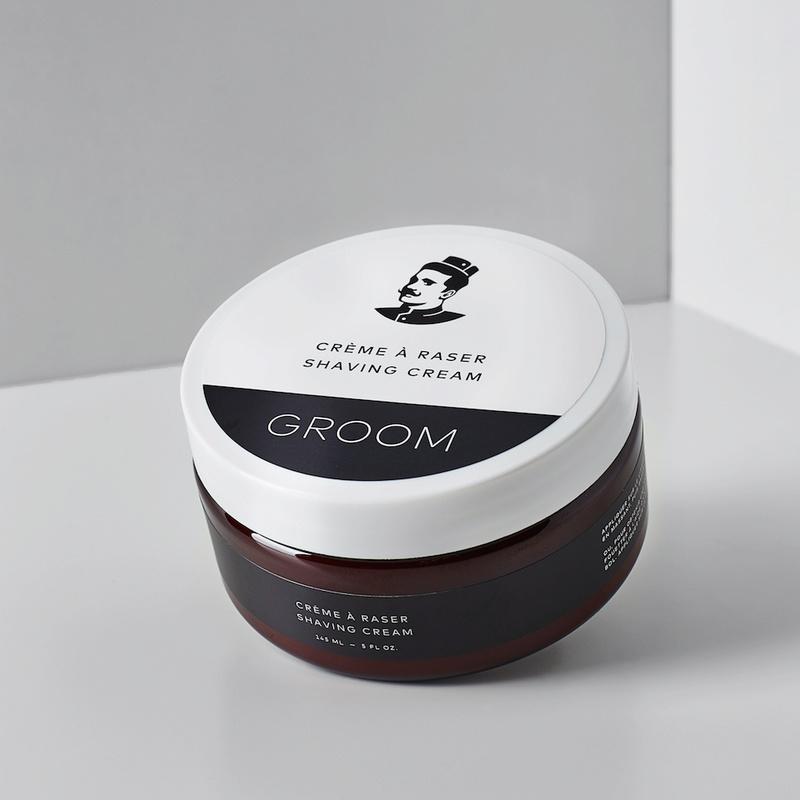 Les Industries Groom - Savon et crème à raser - Huile à raser Groom_10