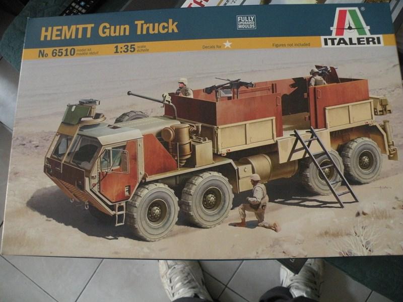 review du HEMTT gun truck (italeri 1:35) Dscn9912