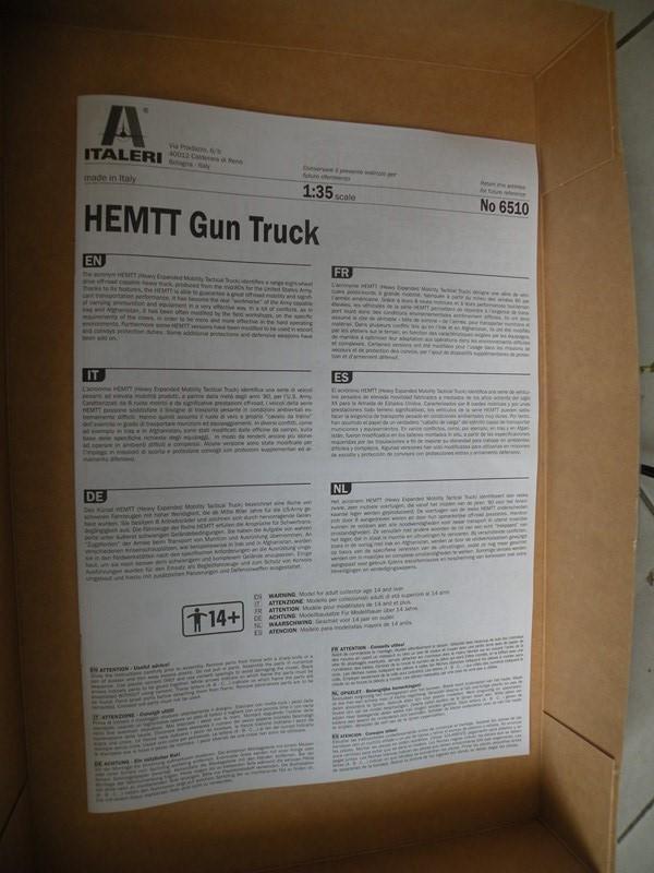 review du HEMTT gun truck (italeri 1:35) Dscn9914