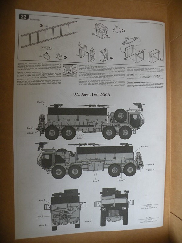 review du HEMTT gun truck (italeri 1:35) Dscn9915