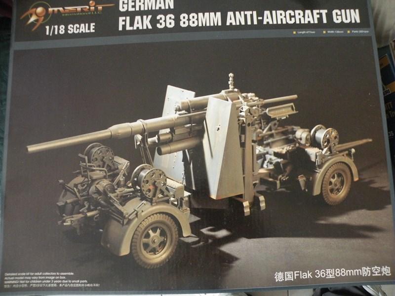 Flak 36 88mm (merit 1/18) Dscn9919
