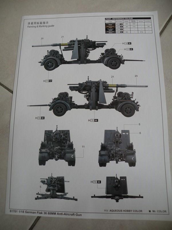 Flak 36 88mm (merit 1/18) Dscn9922