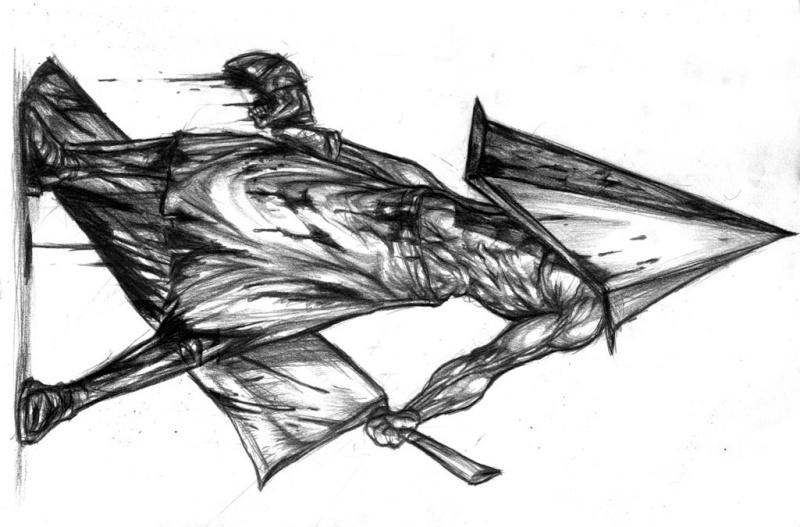 mon dernier dessin avant l'opération de ma main droite et donc une trèèèès période sans dessiner :( Pyrami11