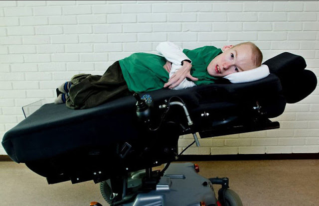 Conoce a Torstein Lerhol, el chico con atrofia muscular espinal 210