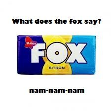 What does the fox say?! 6088510