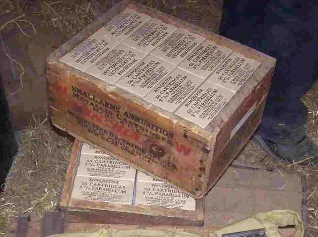 caisse de munitions Winchester WW2 10071310