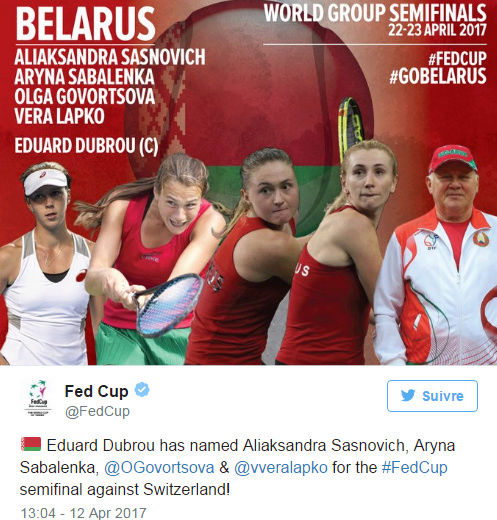 FED CUP 2017 : Groupe Mondial  - Page 6 Untit238