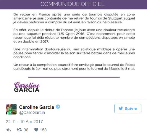 CAROLINE GARCIA (Française) - Page 6 Untit241