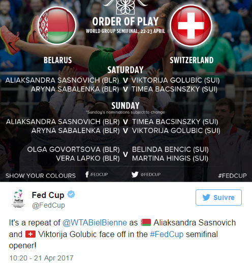FED CUP 2017 : Groupe Mondial  - Page 7 Untit258