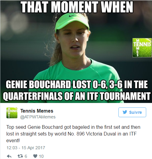 EUGENIE BOUCHARD (Canadienne) - Page 10 Untit267
