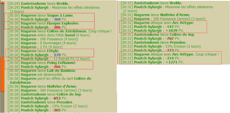 Hagaren - Pandawa Feu/Terre Level 120 / 150 / 167 / 194 . - Page 2 Degats10