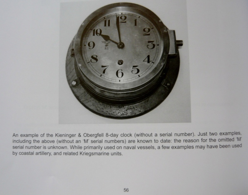 Horloge de bord kriegsmarine  P1170610