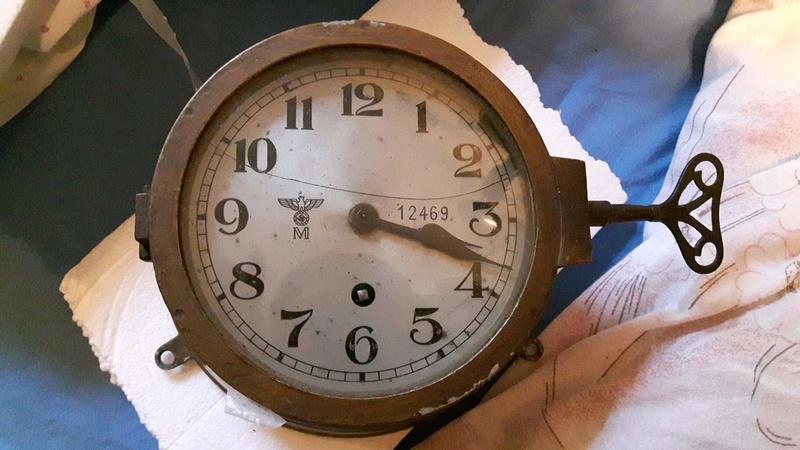 Horloge de bord kriegsmarine  Receiv10