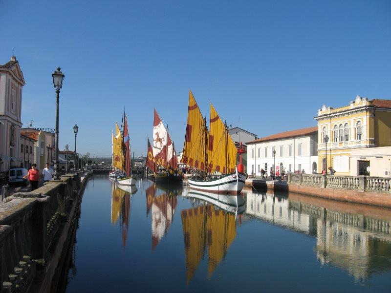 MUSEO GALLEGGIANTE [ Porto canale ] di CESENATCO 2013 Img_5121