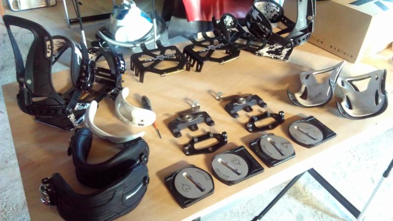 Spark Magneto+spoiler Surge+straps Cartel+pucks Spark+couteaux Sabertooth 290€ Imag0611