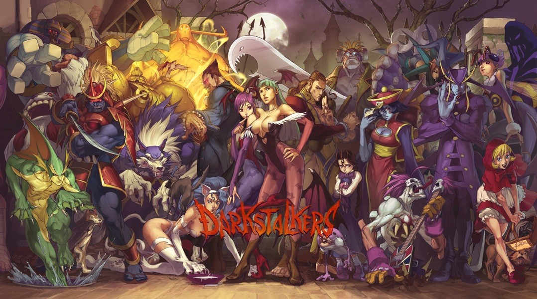 [Arcade- PS1] DarkStalkers - The Night Warriors Darkst10