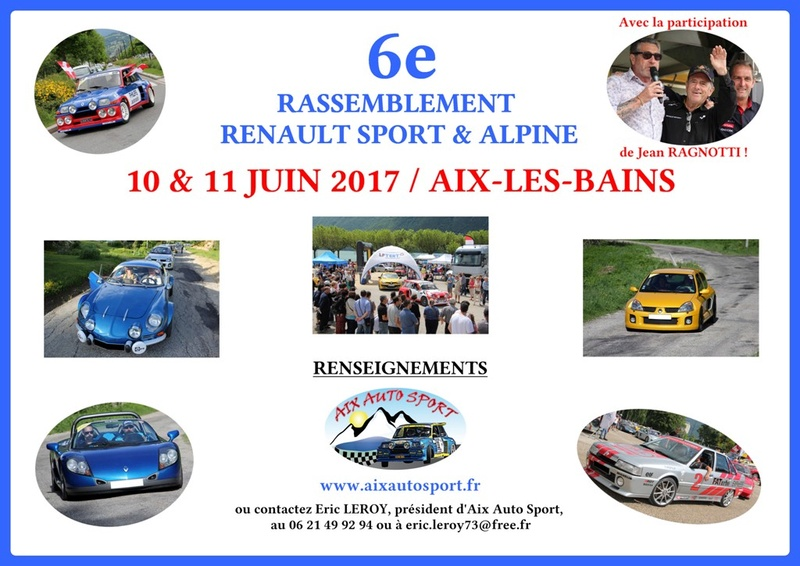 -6e Rassemblement RS et Alpine : 10/11 juin 2017 à Aix- Annonc10